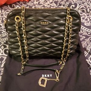 DKNY chain strap crossbody